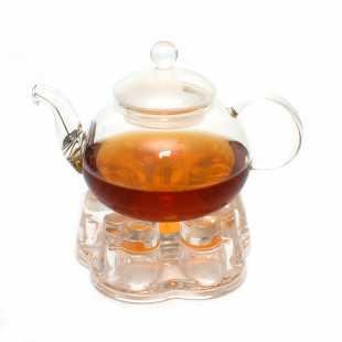 Набор: чайник Азалия 800 мл и подставка-подогреватель Агава